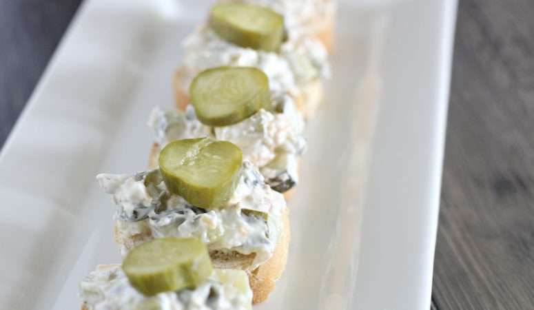 Delicious and Easy Dill Pickle Dip