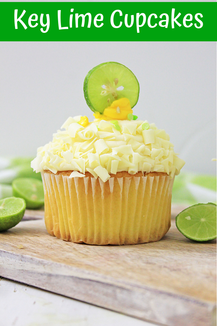 single key lime cupcake