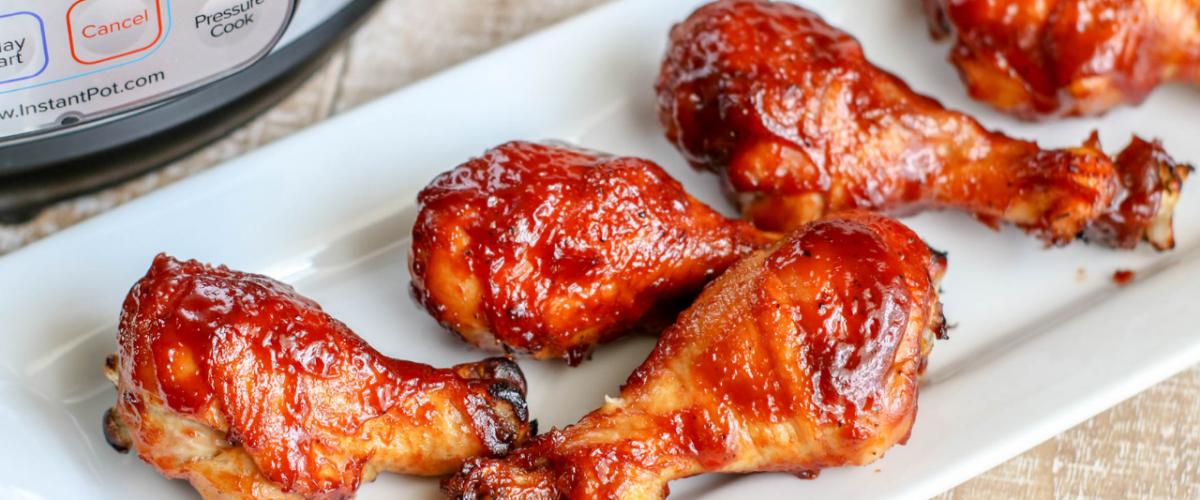 BBQ Chicken Legs In The Instant Pot
