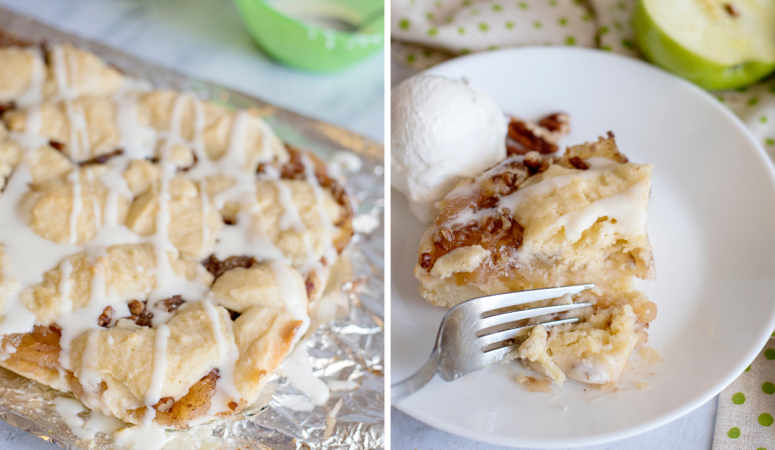 Easy Apple Pecan Pie Bars