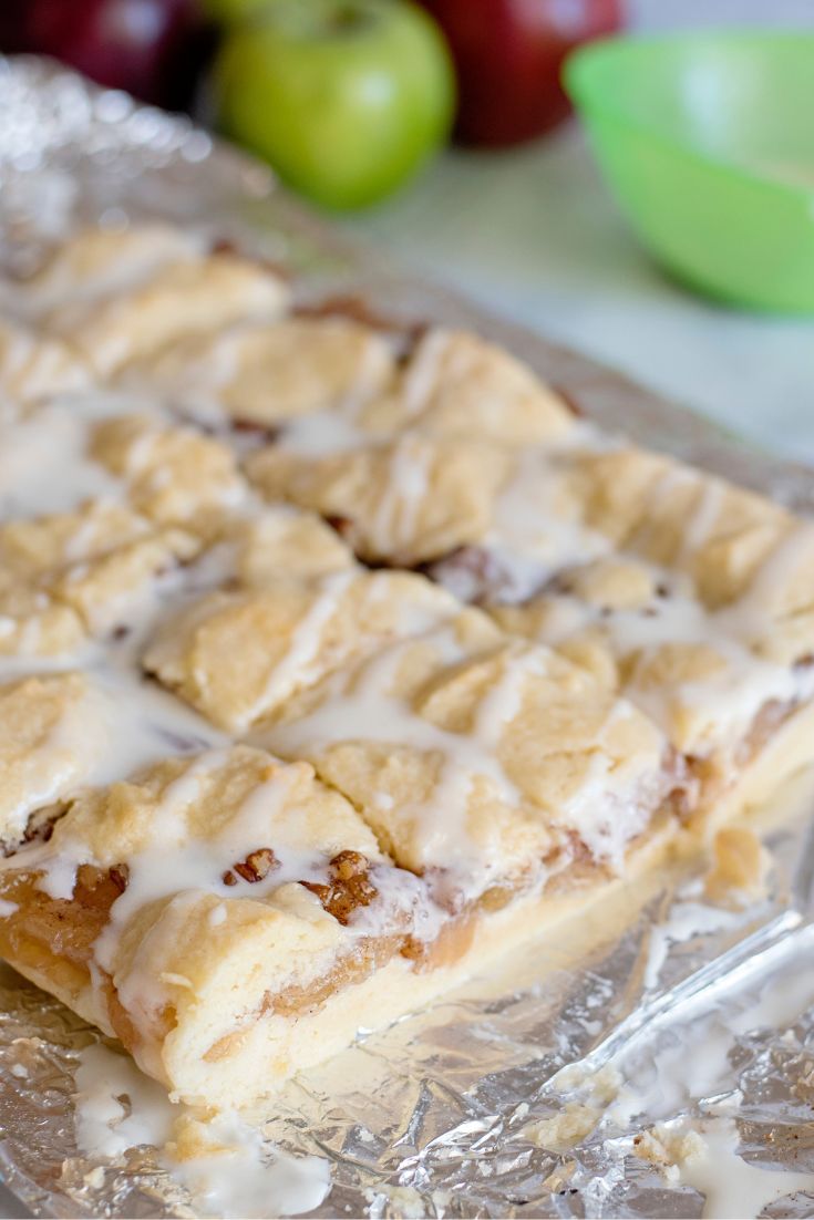 apple pecan pie bar