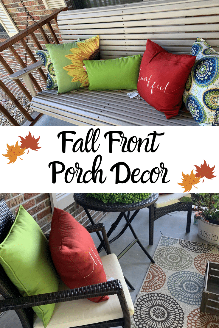 Porch Decor Update For Fall