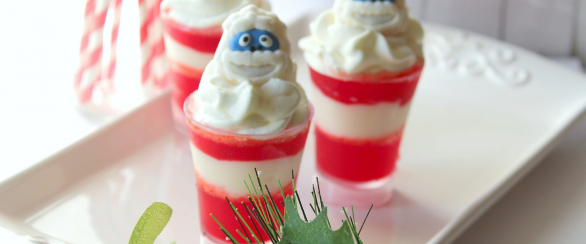 Rudolph's Abominable Snowman Cups