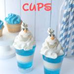 Olaf Jello Cups