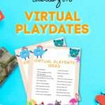 Virtual Play Date Printable PDF