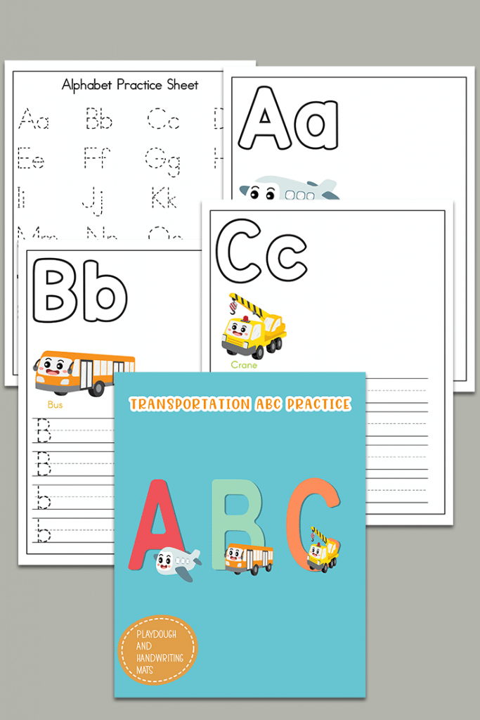 coloring sheets for learning the alphabet