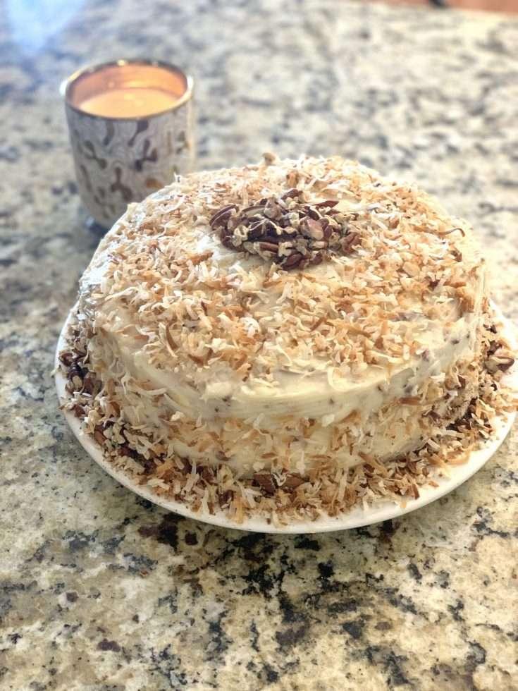 Italian Cream Cake From Cake Mix