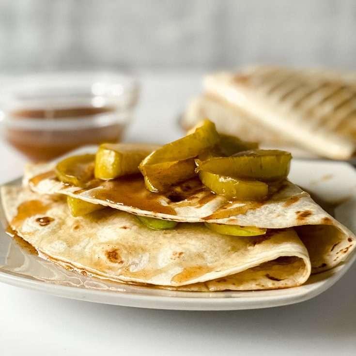 Caramel Apple Tortilla Recipe