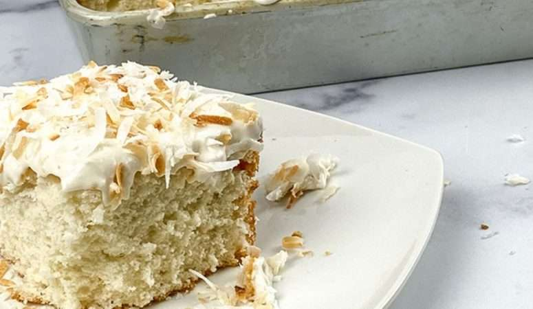 Coconut Cake Recipe from Scratch