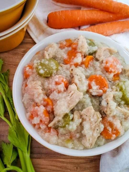 crockpot turkey and rice soup